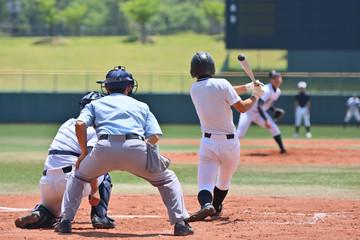 高校野球の試合