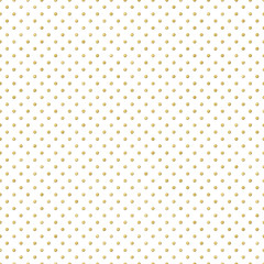 Seamless gold Polka dot pattern. Just drop to swatches and enjoy EPS 10