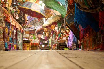 Oriantalische Dekoration in einem asiatischen Shop in Camden Market, London