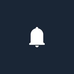 Push notification icon. Bell. Vector illustration