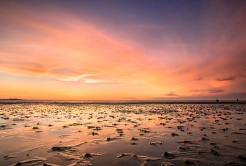 Traumhafte Lichtstimmung an der Nordsee