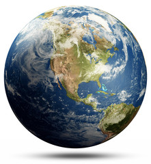 Wall Mural - Planet Earth America