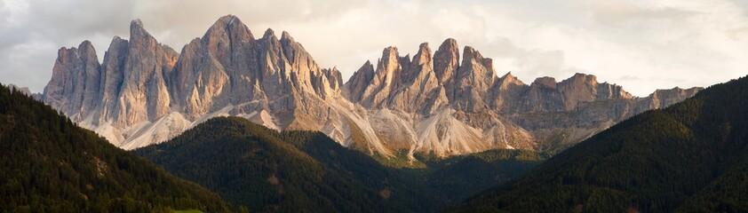 Geislergruppe or Gruppo dele Odle, Italian Dolomites Wall mural