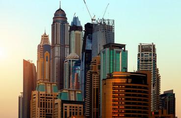 Dubai skyscrapers architecture