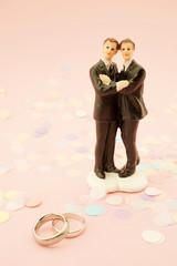 Gay wedding invitation
