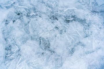 Light Blue Spring ice. Ice. background.