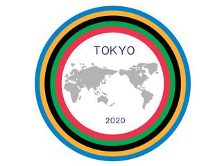 東京オリンピック2020年のタイトルフレーム