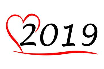 Herzliches Jahr 2019