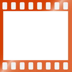 film strip frame with copy space for your text or image