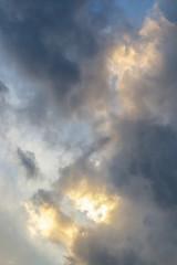 Heavenly Cloud Burst Sky