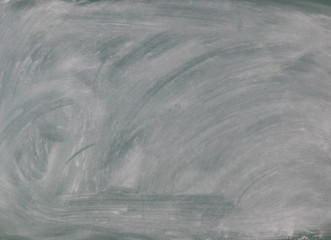 Back to school concept with green chalkboard