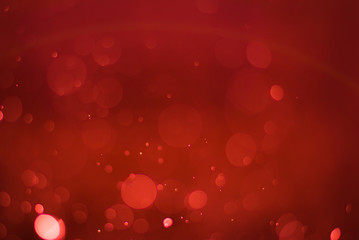 abstract ruby red background with soft blur bokeh light effect