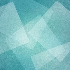 blue background with abstract squares angles and triangle layers in abstract geometric pattern for web and business designs