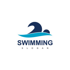 Swimming Logo Design Inspiration