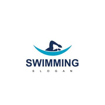 Swimming Logo Design Inspiration