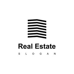 Modern Apartment, Real Estate Logo design Inspiration