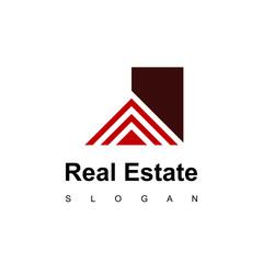 Modern House Of Real Estate Logo Design Inspiration