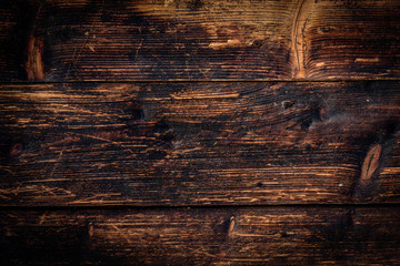 Old wooden texture or background.