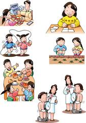 子供の生活カット集01