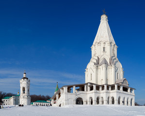 Church of the Ascension in Moscow