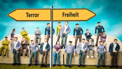 Schild 370 - Terror