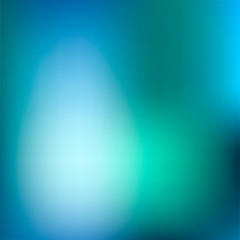 Blurred turquoise water background. Summery and fresh, with vibrant blue shades. Pool water. Good for summer posters.