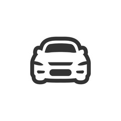 Car icon graphic design template vector