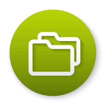 folder yellow button