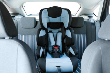 Safety seat for child in car