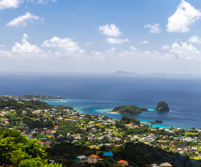 Saint Vincent and the Grenadines, Young Island view