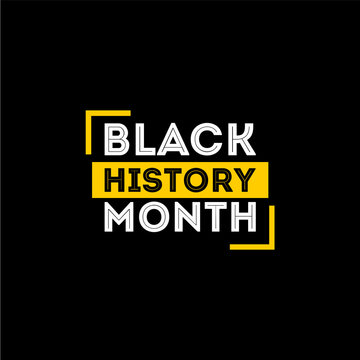 Black History Month Vector Design