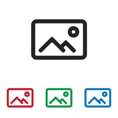 Gallery vector icon