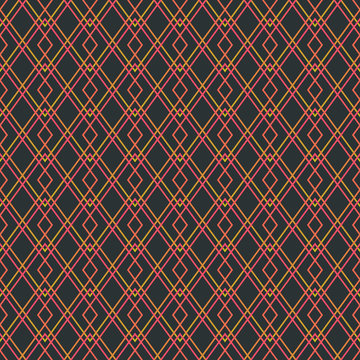 Simple Elegant seamless geometric grid pattern