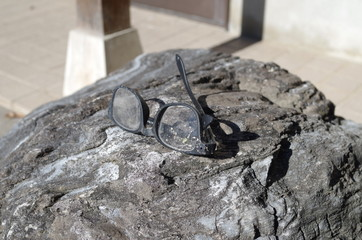 眼鏡の忘れ物