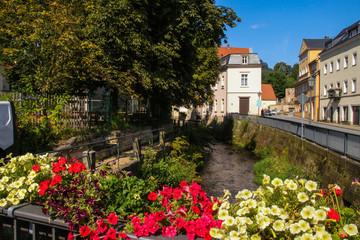 Königstein in Saxon Switzerland - Germany, beautiful smalltown