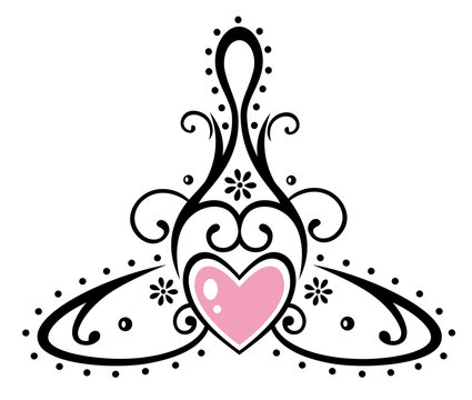 Keltisches Symbol, Mutter mit Kind. Muttertag.