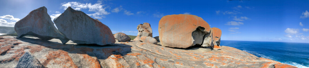 Foto op Aluminium Kangoeroe Remarkable Rocks panoramic view, Flinders Chase National Park, Kangaroo Island