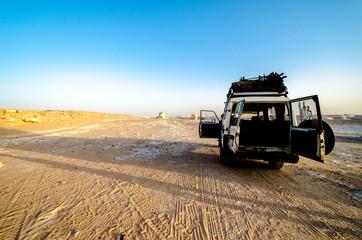 一面の砂漠