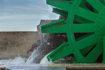Green water mill