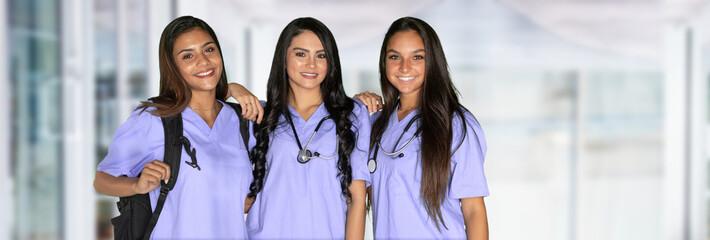 Three Nursing Students