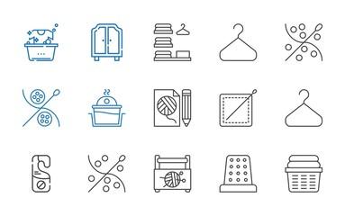 hanger icons set