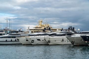 Yachts on Port Vauban, Antibes