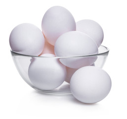 chicken eggs in bowl