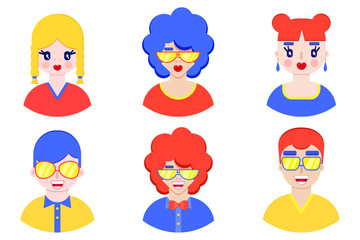 boys and girls avatars