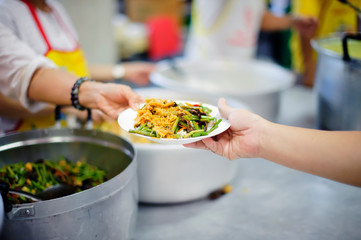 Food For The Poor : concept Tackling Hunger and Food