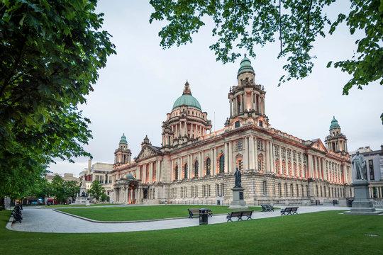 Belfast City Hall, Northern Ireland, UK