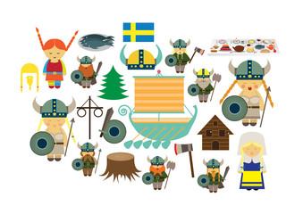 Sweden illustrations