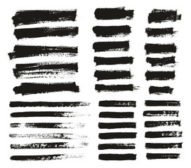 Paint Brush Thin Background & Lines High Detail Abstract Vector Background Mix Set 160