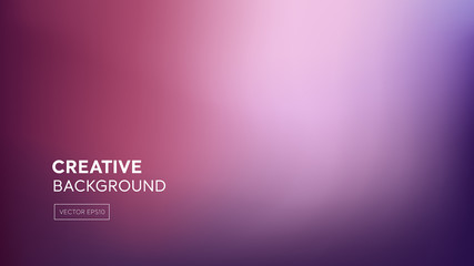 Abstract gradient blend purple pink background
