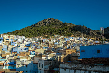 Street views in Chefchaouen, Marocco